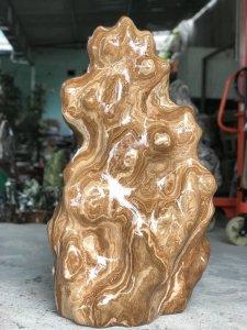 Ms 9342.Cây đá can xít vân gỗ...