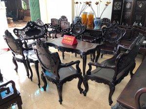 Bộ bàn ghế Louis pháp