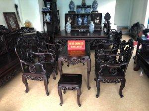 Bàn ghế Ngũ Phúc Bổng Thọ