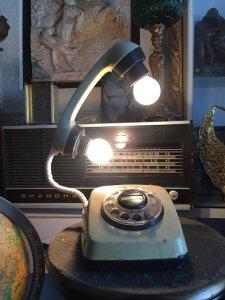 Điện thoại quay số đèn