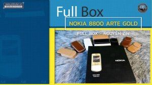 Nokia 8800 Arte Gold Fullbox