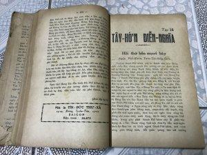 2 cuốn Tây Hớn Diễn Nghĩa 1951