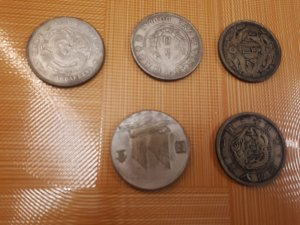 Xả hàng tiền xu bạc nguyên khối  giá 300k trở lên