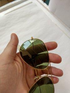 kính Rayban Aviator B&L. USA mạ vàng. 62 - 14