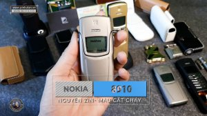 Nokia 8910 vàng cháy sơn lại