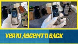 Vertu Ascent Ti Back nguyên zin