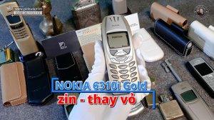 Nokia 6310i Gold zin thay vỏ