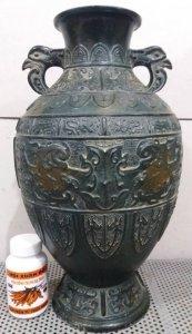 Bình atimon quý hiếm độc lạ cao tầm 50cm nặng khoảng 5kg Phone : 0938 179 545