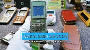Nokia 8800 Sirocco Light thay vỏ