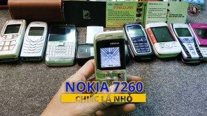 Nokia 7260 chiếc lá nhỏ