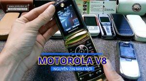 Motorola V8 nguyên zin như mới