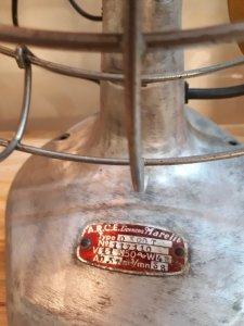 Quạt cổ  marelli 1940s điện 115v