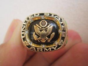 Nhẫn bạc khối Cựu binh bộ binh...