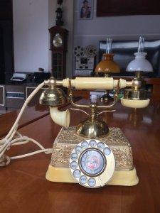 Điện thoại quay số cổ điển thập...