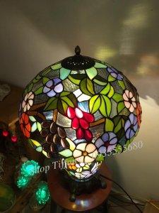 Đèn Bàn Tiffany Hai Thân Nho