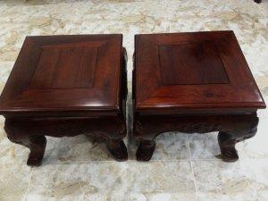 Cặp đôn gỗ cẩm Lai xưa