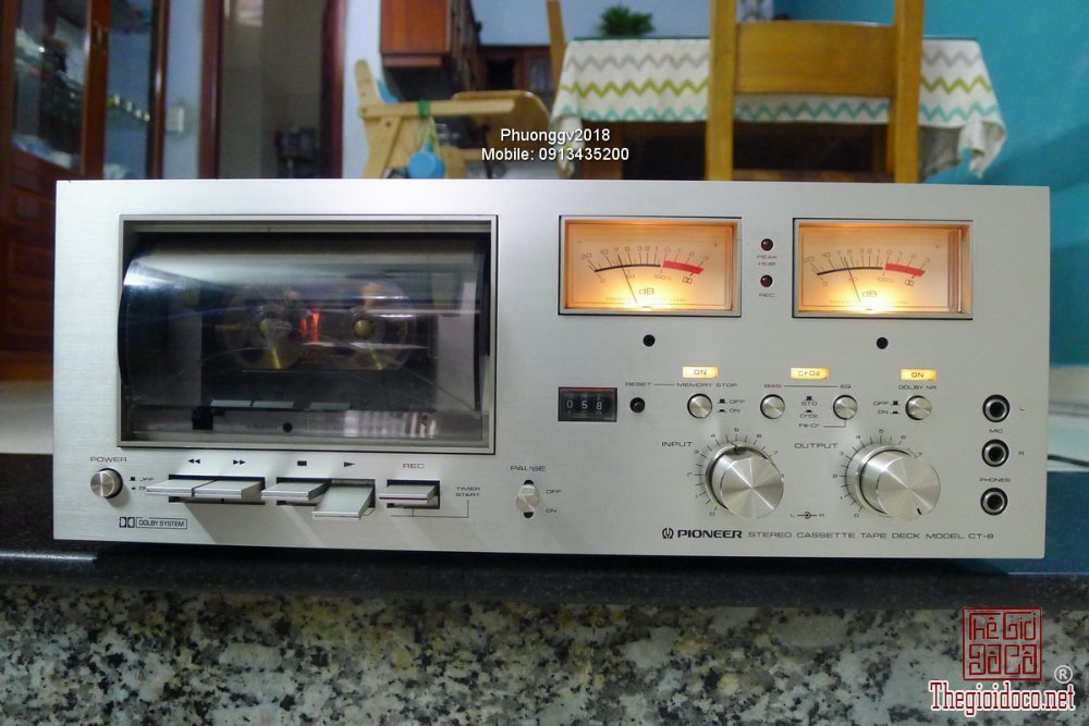 Đầu câm (Cassette Decks) các loại giao lưu! - 25