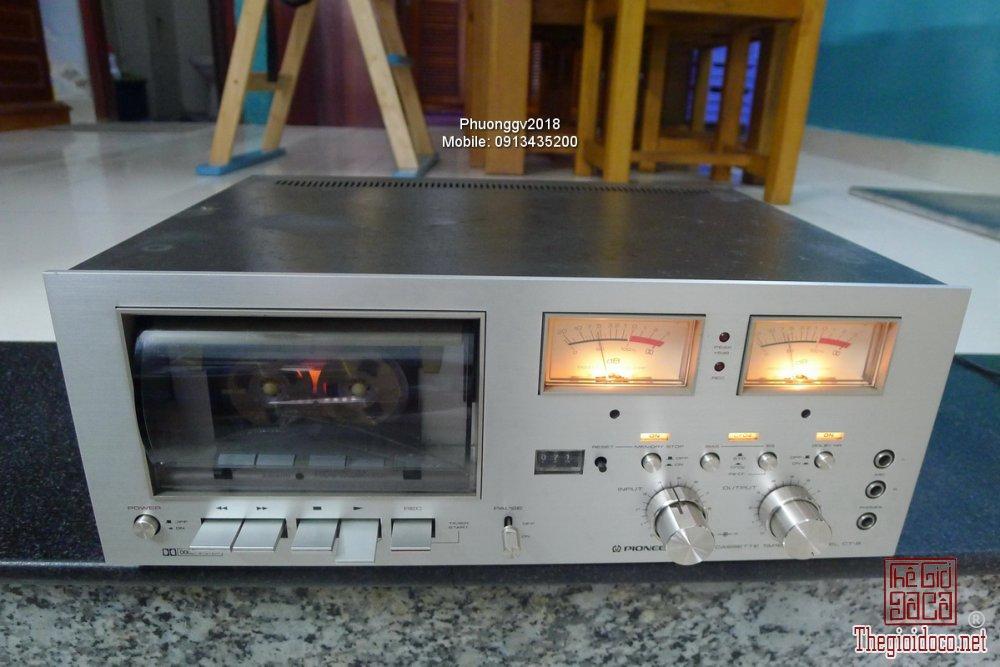 Đầu câm (Cassette Decks) các loại giao lưu! - 4