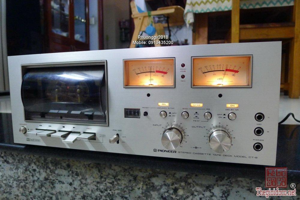 Đầu câm (Cassette Decks) các loại giao lưu! - 29