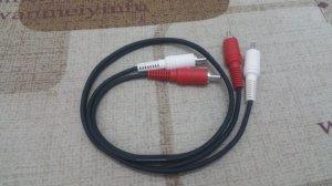 Cặp dây tín hiệu JVC dài 62 cm...