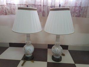 Cặp đèn điện xưa Châu âu.