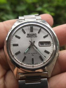 Seiko Actus 21jewels 7019-8010