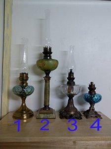 Giao lưu 4 cái đèn cổ của...
