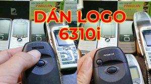 Hướng dẫn dán Logo Nokia 6310i
