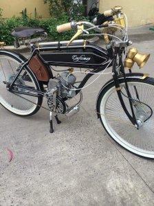 Xe đạp kiểu cổ Japan gắn động...