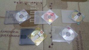 5 đĩa MD rất đẹp, hàng xách tay...