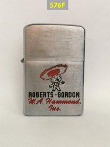 576F-Chữ xéo 1957 -ROBERTS GORDON