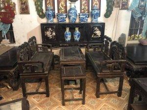 Bộ bàn ghế Đoản lối tàu