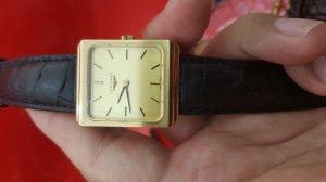 Đồng hồ longines vỏ lacke vàng...