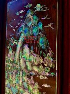 Siêu phẩm tủ thờ được đóng bằng gỗ cẩm lai Việt siêu vân (2).jpg