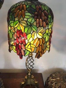Đèn Bàn Tiffany Đồng Cổ Châu Âu