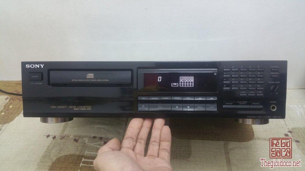 Đầu máy CD SONY CDP-411