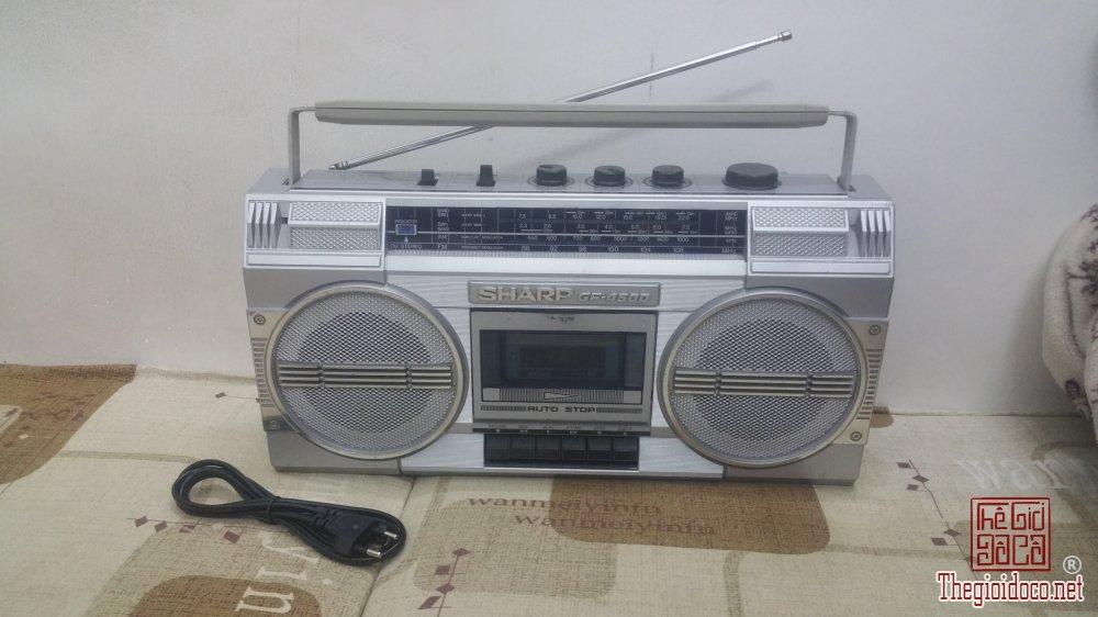 Đài Radio SHARP GF-4500 rất đẹp
