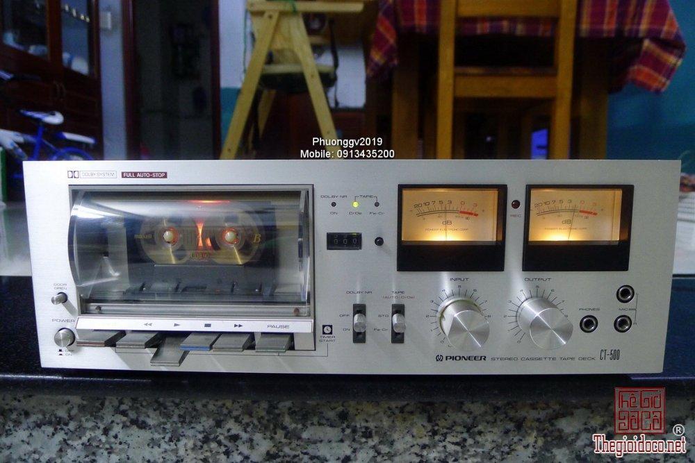 Đầu câm (Cassette Decks) các loại giao lưu! - 50