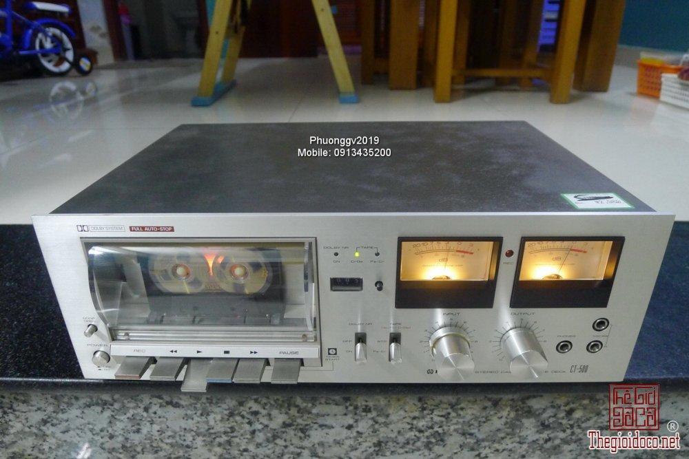 Đầu câm (Cassette Decks) các loại giao lưu! - 52