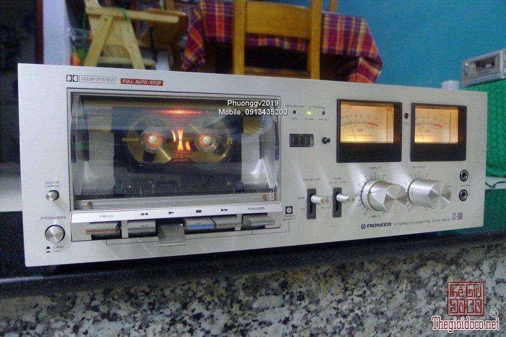 Đầu câm (Cassette Decks) các loại giao lưu! - 54
