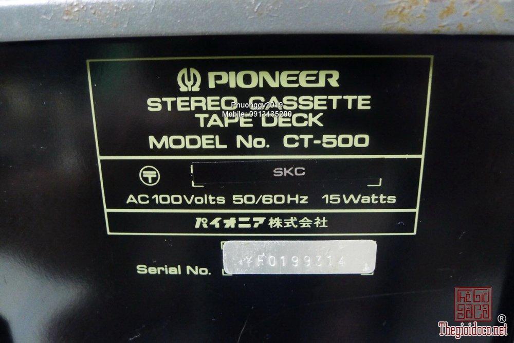 Đầu câm (Cassette Decks) các loại giao lưu! - 92
