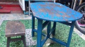 Bàn ghế xưa