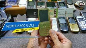 Nokia 6700 Gold nguyên zin thay vỏ