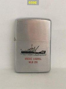 659E-chữ xéo 1965 USCGC LAUREL...