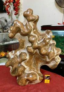 Cây đá vân gỗ, cao 82cm, giá 5...