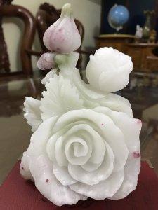 Ms 9541.Hoa hồng Ruby-Hàng kịch độc