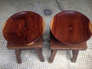 Dĩa chưng bày gỗ cẩm lai