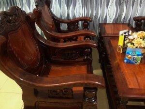 Nhà dọn bộ ghế 5 món gỗ tốt