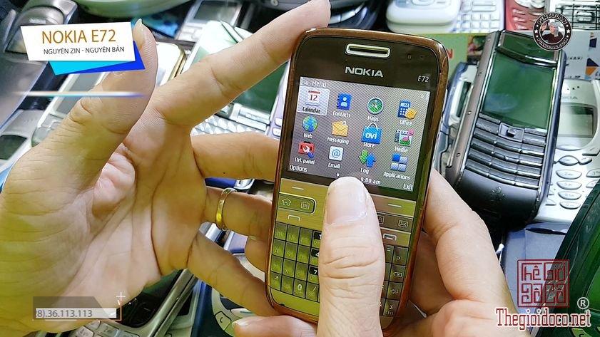 Nokia E72 chiếc máy huyền thoại mang nét cổ điển