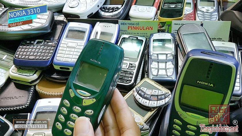 Nokia 3310 nồi đồng cối đá nguyên bản năm 2000